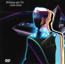 PRINCE ON TV (2008-2009) - TV Appearances - DVDR