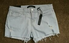 J Brand Low Rise Cut Off Short Jean Shorts Addicted Size 28 New With Tags