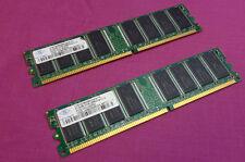 1GB Kit Nanya NT512D64S8HAAG-7K PC2100 266MHz DDR1 Non-ECC Desktop Memory RAM