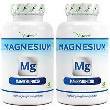 2x Magnesium Advanced = 730 Kapseln 400mg Hochdosiert Knochen Vegan Vit4ever