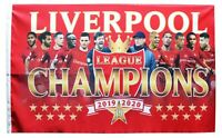 Liverpool Champions Flag Large 5ft x 3ft 2019/20