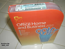 Microsoft Office 2010 Home and Business Licensed For 2 PCs Full Retail Box