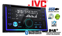 JVC Kw-Db93bt Double DIN Car Stereo Dab Radio Bluetooth CD MP3 USB Aux In New