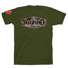 Suzuki Hart & Huntington Camolife T-Shirt - Size Large - Brand New