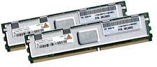 2x 2GB 4GB RAM IBM BladeCenter HS21 XM 667 Mhz FBDIMM DDR2 Fully Buffered