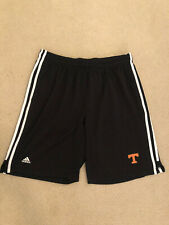 Adidas Mesh Basketball Shorts Mens Black UT University Of Tennessee XL