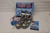 SKECHERS Women's Shape Ups 11806 Pink Silver Grey Walking Shoes Size 9