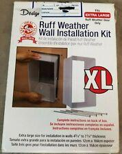 Ideal Pet Prod Designer Ruff-Weather XL Pet Door Wall Installation Kit LS37-5