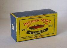 Repro box Matchbox 1:75 nº 57 Chevrolet Impala rojo