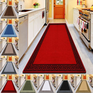 Non Slip Door Mats Long Hallway Hall Runner Entrance Rug Kitchen Floor Mat