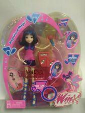 Winx club dolls Mattel Singsational Magic Bloom NIB Musa