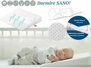Anti Reflux Colic 2x Baby Wedge Pillow  Cushion For Pram Crib Cot Bed Head Foam