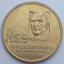 Uruguay 1975 Libertad o Muerte - Freedom or Death - N$5 Comm Coin Caps 2
