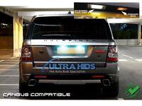 Range Rover Sport 2005+ Xenon White LED Number Plate License Light Bulbs 501