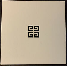 "Givenchy Empty Rare Box 9"" X 9"" X 2"" New Vintage Black & White"