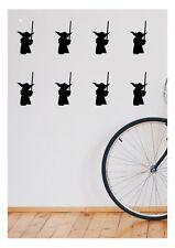 Yoda - Star Wars Wall sticker wall decal Set of 20