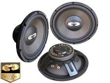 """NIB CDT AUDIO HD-1000CF 10"""" HIGH DEF CAR AUDIO CARBON FIBER SUB FREE GIFT!!"""