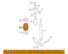 AUDI OEM 13-16 A4 Quattro Rear-Shock Absorber 8K0513035AM