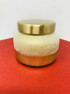 ANTHROPOLOGIE Capri Blue *Volcano* Sugarcoated Gold Glitter Glass Jar Candle 5oz