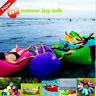 Wateproof Inflatable Air Sofa Bed Lazy Sleeping Bag Beach Chair Outdoor Camping