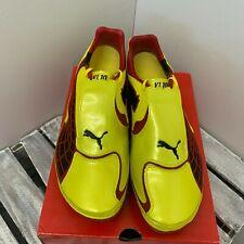 PUMA v1.10 i FG Men's Football Shoes Yellow UK9.5(EU44)(101819 02)