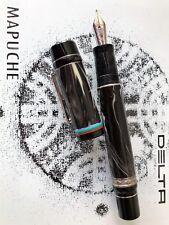 Delta Mapuche Limited Edition Fountain Pen Sterling Silver(1K) medium nib 101