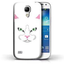 Étuis, housses et coques blancs Samsung Galaxy S4 Mini pour téléphone mobile et assistant personnel (PDA) Samsung