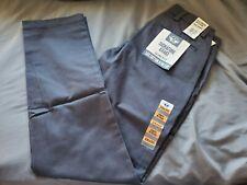 Dockers Men's Slim Fit Signature Khaki Lux Cotton Stretch Pants Navy Size 28WX30