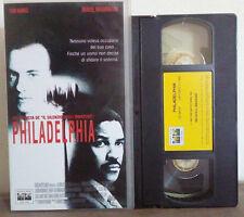 VHS FILM Ita Drammatico PHILADELPHIA tom hanks denzel washington no dvd(VHS7)