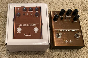 Fender Acoustic Preamp/Reverb Pedal
