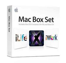 Mac BOX SET-OSX 10.5 Leopard, iWork 09, iWork 09-DVD-Nuovo, sigillato