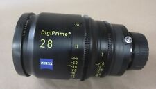"CARL ZEISS DIGIPRIME 28 28mm T1.6 LENS B4 MOUNT - FOR DIGITAL CINE 2/3"" CAMERAS"