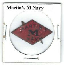 Martin's M Navy Chewing Tobacco Tag M233