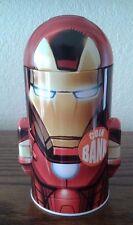 Head Shaped Coin Bank - Marvel Avengers - Iron Man Tin Metal Box New Toys