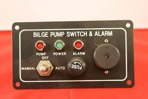 BILGE PUMP SWITCH and ALARM Panel - NEW , Electrical Systems, Switches