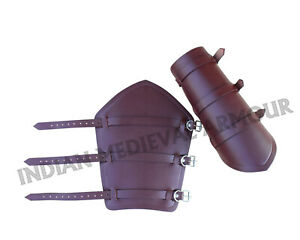 Medieval Viking Leather Arm Guard