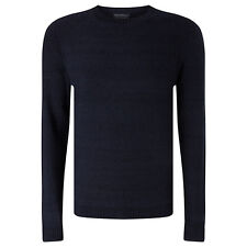 NEW + TAGS * JOHN LEWIS & co * 100% COTTON BLUE MOSS KNIT JUMPER SIZE L RRP £69