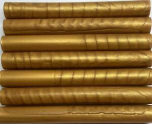 Tuscan Gold Flexible Glue Gun Sealing Wax - 7 Sticks (may be slightly irregular)