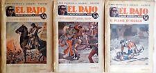 NERBINI ROMANZO DISPENSE EL RAJO 50 FAS. COMPLETA 1931 EMILIO FANCELLI 1 EDI.