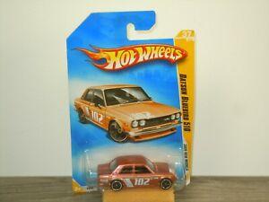 Datsun Bluebird 510 - Hotwheels in Box *48154