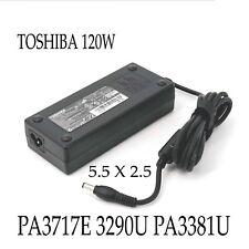 120W19V 6.3A AC Adapter for Toshiba Satellite Pro P500 PA3717E-1AC3 PA3290E-1ACA