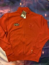 MITCHELL & NESS MEN'S CHICAGO BULLS Basketball SIZE Small Red Fleece Jacket