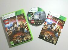 LEGO THE LORD OF THE RINGS Microsoft Xbox 360 Game Complete manual Free Postage