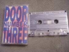 VERY RARE Door Number Three DEMO CASSETTE TAPE 1992 UNRELEASED Diga Rhythm Band