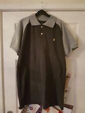 Mens size M/L 'Lyle & Scott' Vintage Polo Shirt grey bnwt NEW