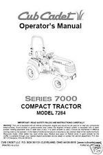 Cub Cadet  Model No. 7264 Manuals COMBO Package