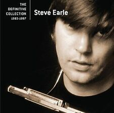 The Definitive Collection 1983-1997 by Steve Earle (CD, Aug-2006, Hip-O)