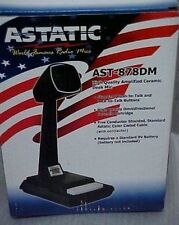 New Astatic AST-878DM Amplified CB Ham Radio Base station desk microphone mic