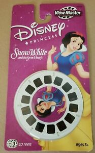 View-Master Walt Disney's Snow White and the Seven Dwarfs 3D Reels NOS