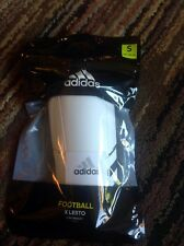 "Nwt Adidas X Lesto Light Weight Shield Shin Guards Youth Small-3'3"" To 3'10"""